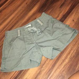 Michael Kors Olive Green Shorts